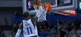 Fail : Monta Ellis rate son dunk seul en contre-attaque