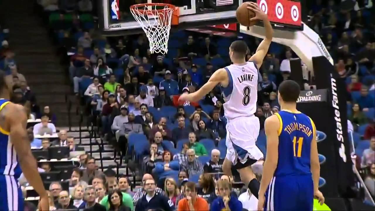 Fail: Zach LaVine met trop de puissance dans son dunk et le rate