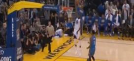 Fail : Draymond Green manque un dunk tout seul à une main