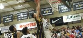 High School: Ben Simmons écrase un défenseur sur un alley-oop pour lui-même avec la planche
