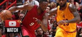 Highlights : 25 pts, 8 rebs et 8 passes pour Luol Deng face à LeBron James