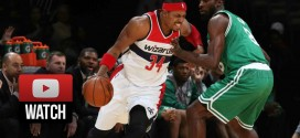 Highlights : 28 pts et la 16e place de Reggie Miller pour Paul Pierce contre Boston