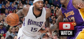 Highlights : 29 points et 14 rebonds pour DeMarcus Cousins contre les Lakers