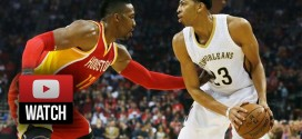Highlights : 30 points, 14 rebonds et 5 contres pour Anthony Davis à Houston