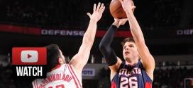 Highlights : Kyle Korver clutch pour les Hawks à Houston (22 points, 4/8 à 3-points)