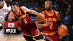 Highlights : Kyrie Irving et Kevin Love combinent pour 39 pts et 19 rebonds