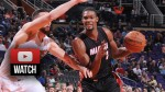 Highlights : les 34 points de Chris Bosh contre Phoenix