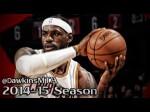 Highlights : les 35 points de LeBron James contre Toronto