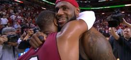 Dwyane Wade (31 pts) gâche le retour de LeBron James à Miami