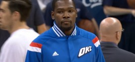 Officiel: Kevin Durant out face aux Spurs