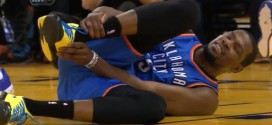 Kevin Durant out face aux Lakers