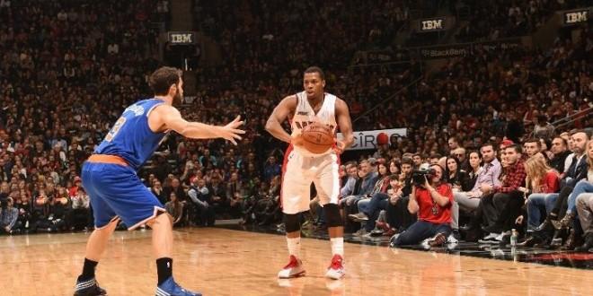 Les Raptors sans souci face aux Knicks grâce à leur backcourt