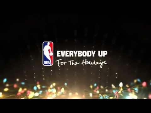 La dernière publicité de la NBA pour les maillots de Noël