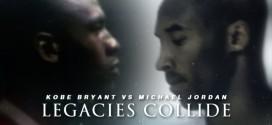 L'énorme mix du jour: Kobe Bryant vs Michael Jordan – Legacies Collide