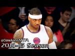 Les highlights de Carmelo Anthony face aux Wizards: 34 points