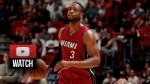 Les highlights de Dwyane Wade face aux Wizards: 28 points et 8 passes