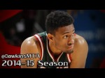 Les highlights de Jabari Parker: 22 points à 11/15 et 8 rebonds