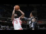 Les highlights de James Harden: 44 points dont 10 en prolongation