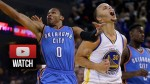 Les highlights de l'énorme duel Stephen Curry (34 points) – Russell Westbrook (33 points)