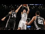 Les highlights de Mirza Teletovic face aux Spurs: 26 points et 15 rebonds