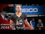 Les highlights de Stephen Curry (29 points, 8 passes) et Klay Tompson (25 points)