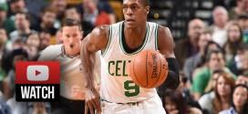 Les highlights du dernier match de Rajon Rondo avec les Celtics