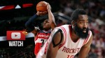 Les highlights du duel Bradley Beal (33 pts) / James Harden (33 pts)