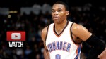 Les highlights du duo Russell Westbrook (32 points et 7 passes) – Kevin Durant (26 points)