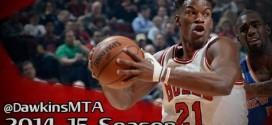 Les highlights du record en carrière de Jimmy Butler (35 points) face aux Knicks