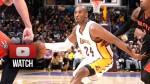 Les highlights du triple-double de Kobe Bryant face aux Raptors
