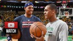Les highlights du triple-double de Rajon Rondo face aux Wizards