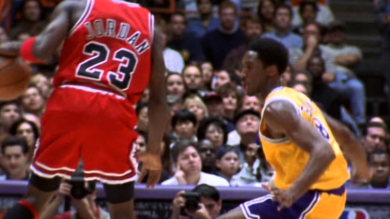 Mix: Michael Jordan vs Kobe Bryant – Duel of Icons