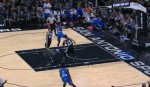 russell westbrook layup
