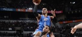 Russell Westbrook écœure les Spurs