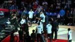 Vidéo : Drake présente le cinq majeur des Raptors