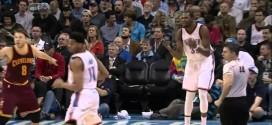 Vidéo : Kevin Durant furax contre Jeremy Lamb qui ne lui fait pas la passe