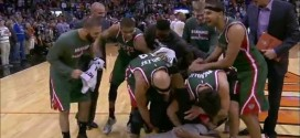 Vidéo: la dernière minute totalement dingue entre les Suns et les Bucks