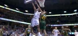 Vince Carter monte au dunk sur Rudy Gobert !