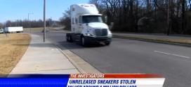 Memphis : il tente de voler une cargaison de Nike LeBron XII d'une valeur d'1M$