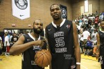 Baron Davis et Kevin Durant