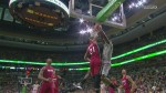 Brandon Bass dunk Hassan Whiteside