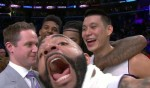 Carlos Boozer, Jeremy Lin, Nick Young et Jordan Hill