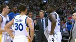 Golden State Warriors, steve kerr, klay thompson et Stephen curry