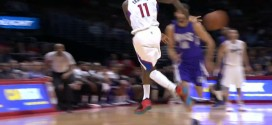 La jolie passe de Jamal Crawford pour le dunk d'Austin Rivers