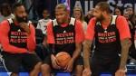 James Harden, Kevin Durant et DeMarcus Cousins