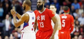 Les highlights du duel à distance James Harden (21 pts, 10 asts) – Chris Paul (22 pts, 14 asts)