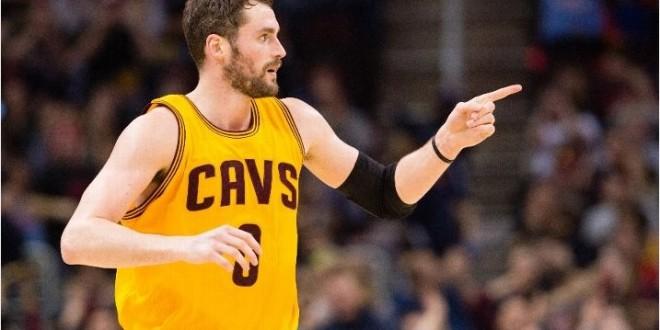 Kevin Love re-signe 5 ans aux Cleveland Cavaliers !