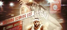 Un honneur pour LeBron James de dépasser une de ses idoles