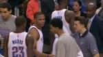 Russell Westbrook n'apprécie pas du tout qu'on lui mette un vent