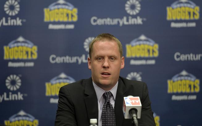 Tim Connelly annouced as Denver Nuggets Executive VP of Basketball OPerations